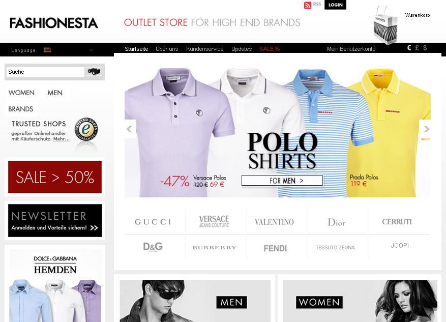 fashionesta.com Gutschein