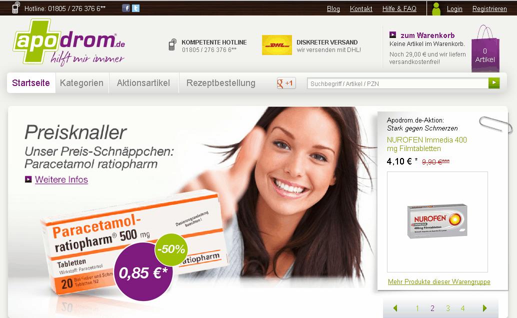 Apodrom.de Gutschein