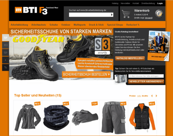 BTI.shop Gutschein