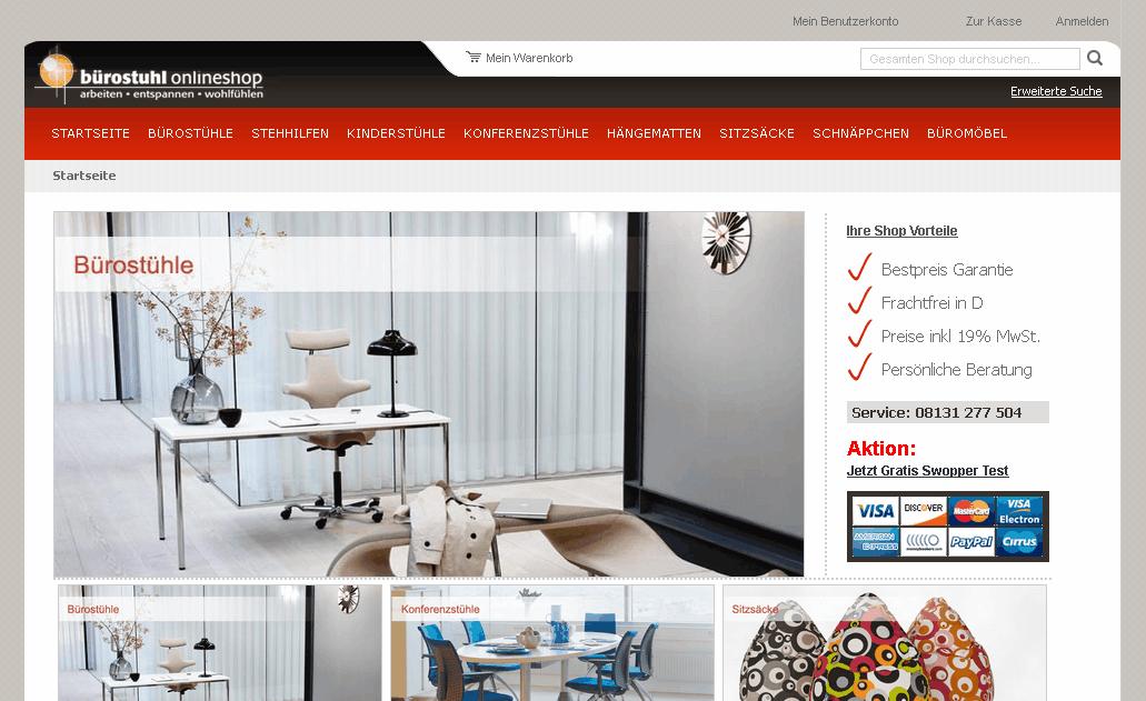 buerostuhl-onlineshop.de Gutschein