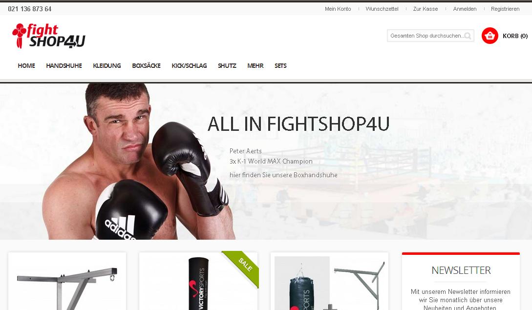 Fightshop4u Gutschein