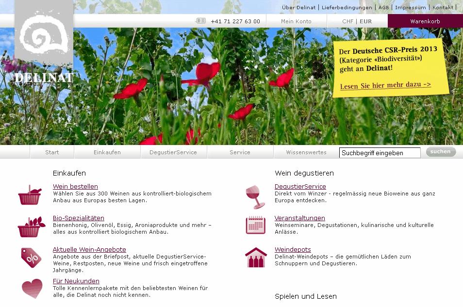 delinat.com Gutschein