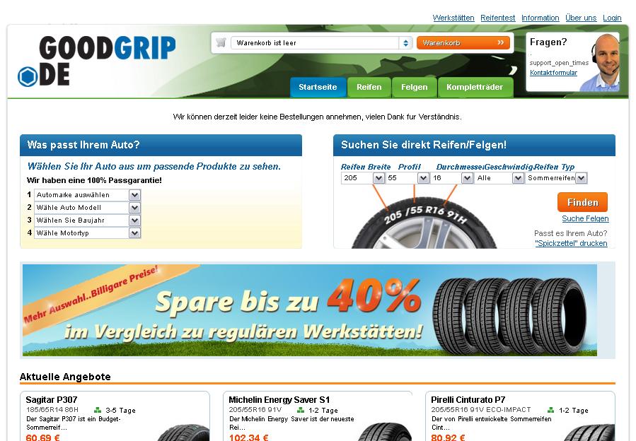 Goodgrip Gutschein