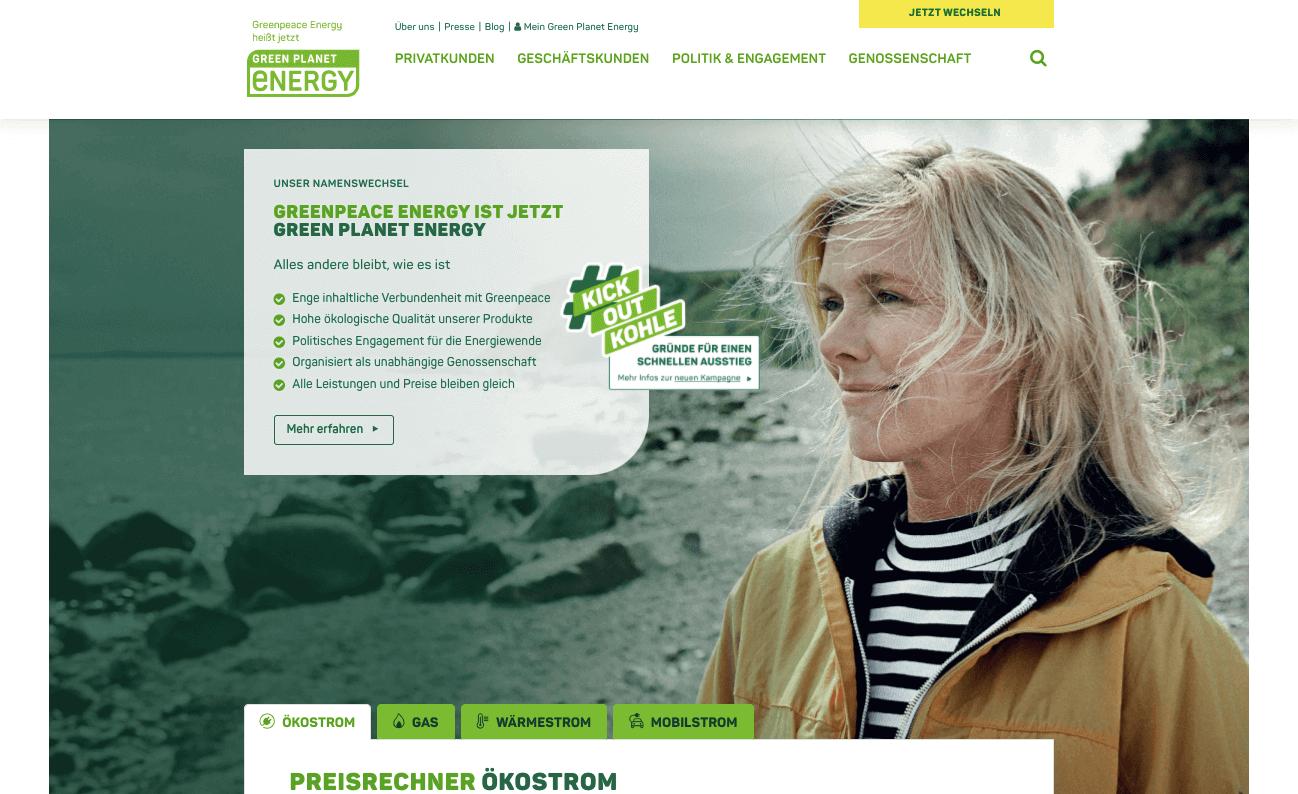 Greenpeace Energy Gutschein