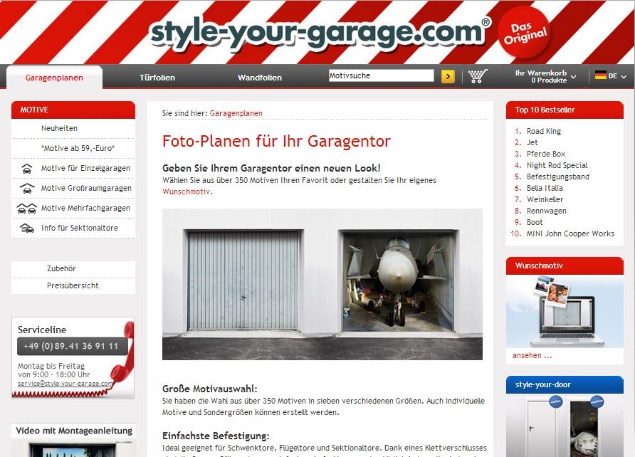 Style your Garage Gutschein