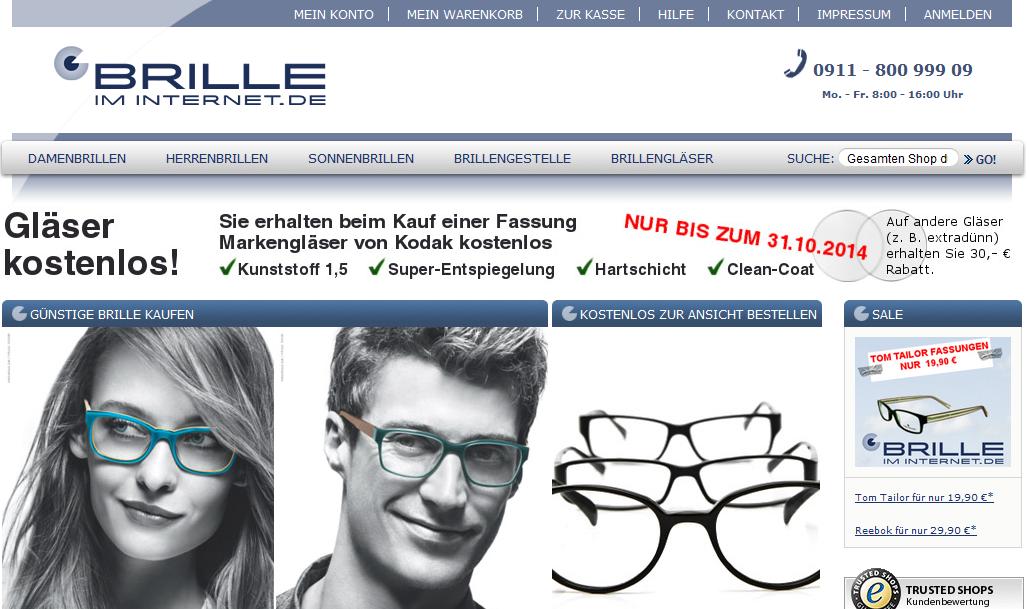 brille-im-internet Gutschein