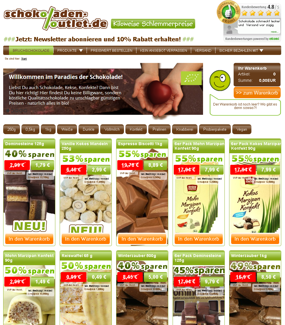 schokoladen-outlet.de Gutschein