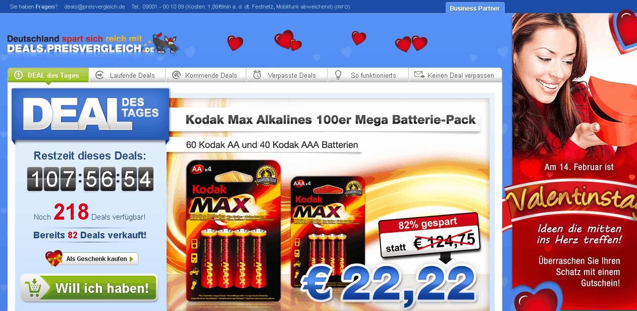 deals.preisvergleich.de Gutschein