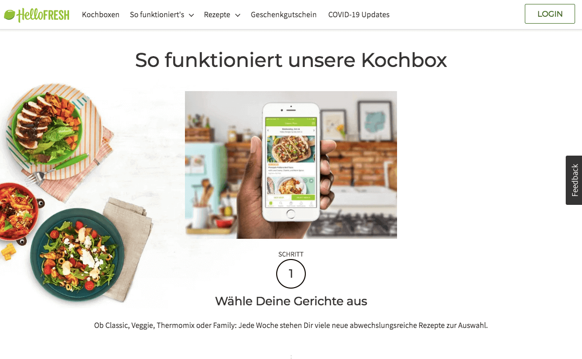 HelloFresh.at Gutschein