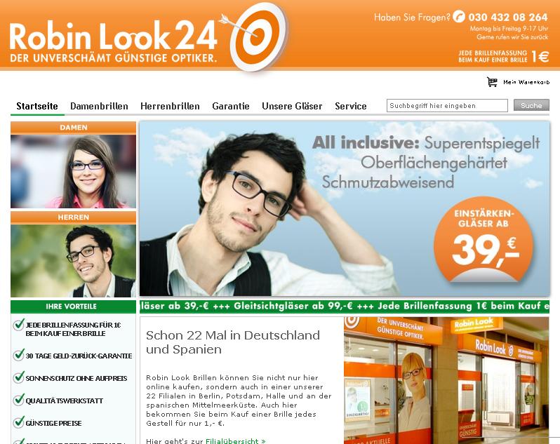RobinLook24.de Gutschein