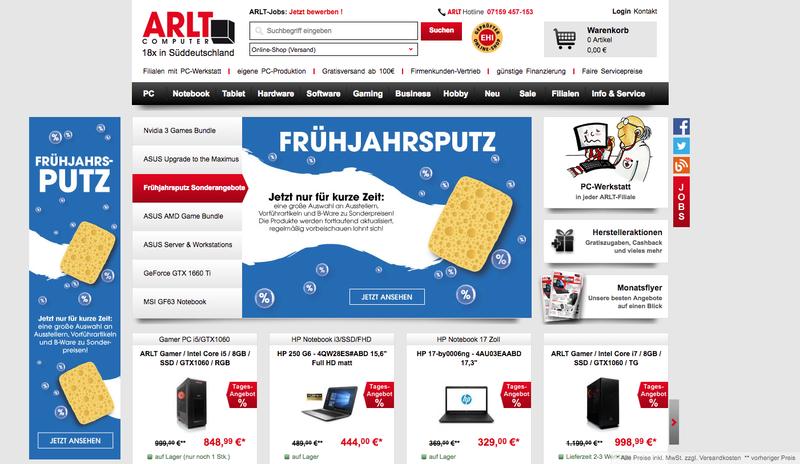Arlt.com Gutschein