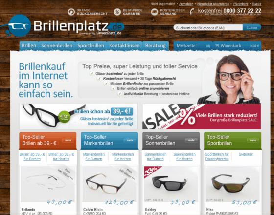 BrillenPlatz.de Gutschein