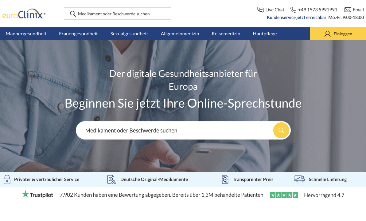 euroClinix Gutschein