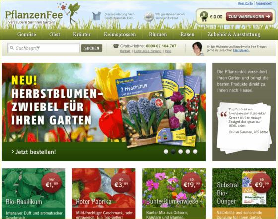 PflanzenFee Gutschein