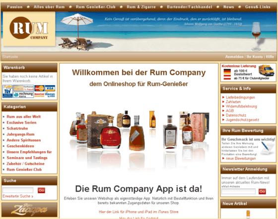 Rum Company Gutschein