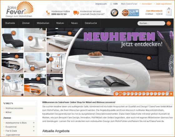 SalesFever.de Gutschein