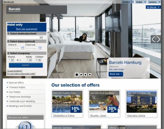 Barcelo Hoteles Gutschein