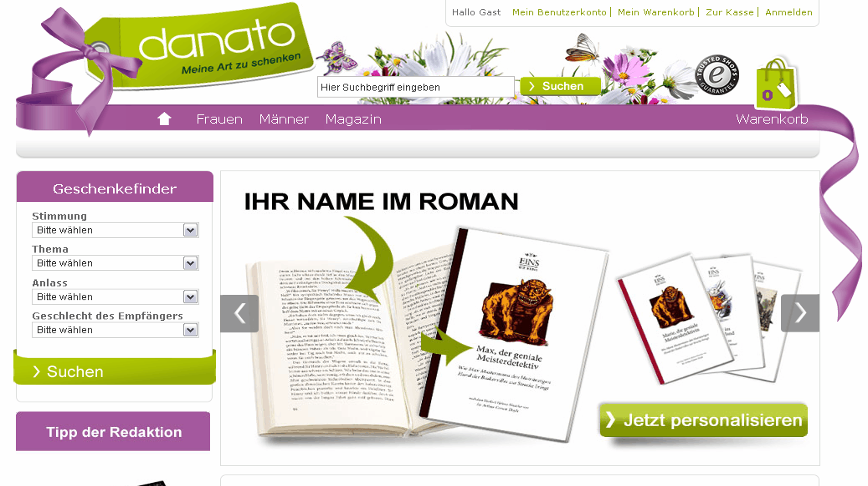 danato.com Gutschein