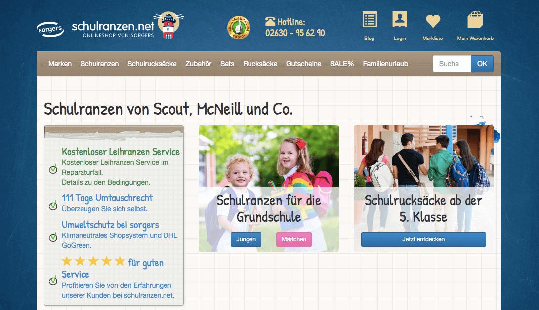 Schulranzen.net Gutschein
