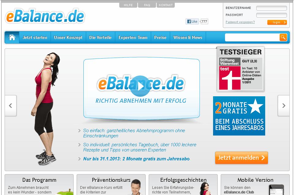 eBalance Gutschein