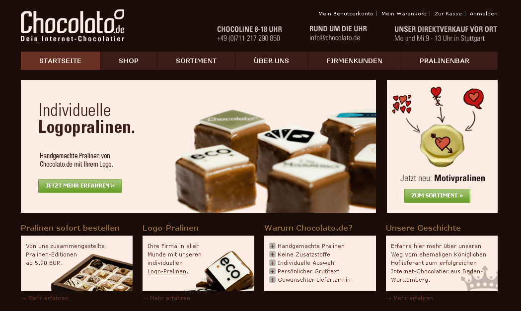 Chocolato.de Gutschein