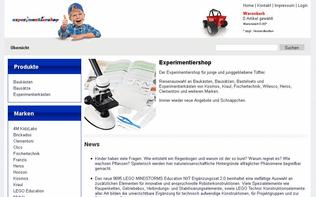 Experimentiershop Gutschein