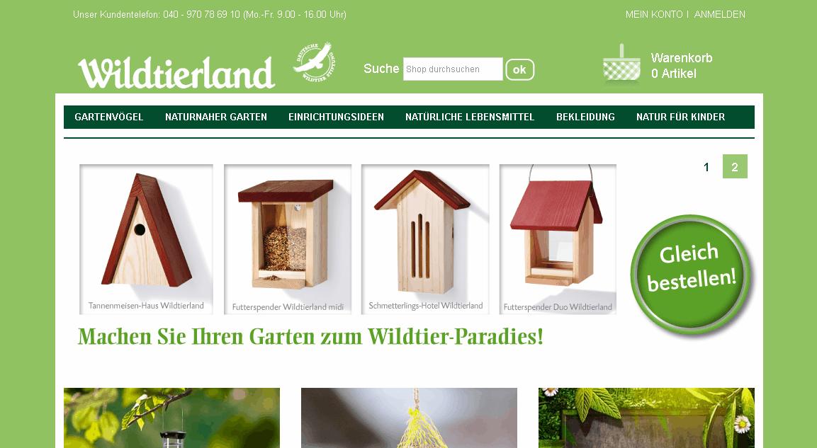 Wildtierland Gutschein