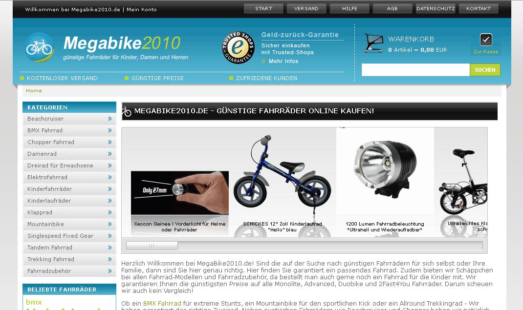 Megabike2010 Gutschein