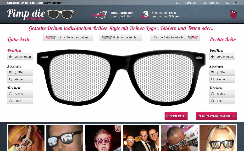 Pimp die Brille Gutschein