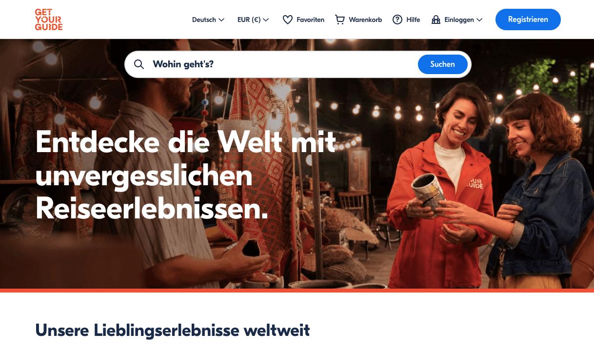 GetYourGuide Gutschein