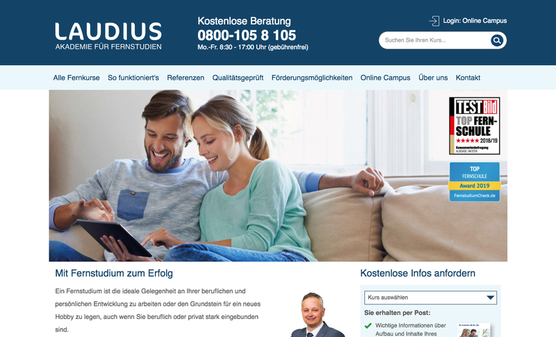 Studienwelt Laudius Gutschein