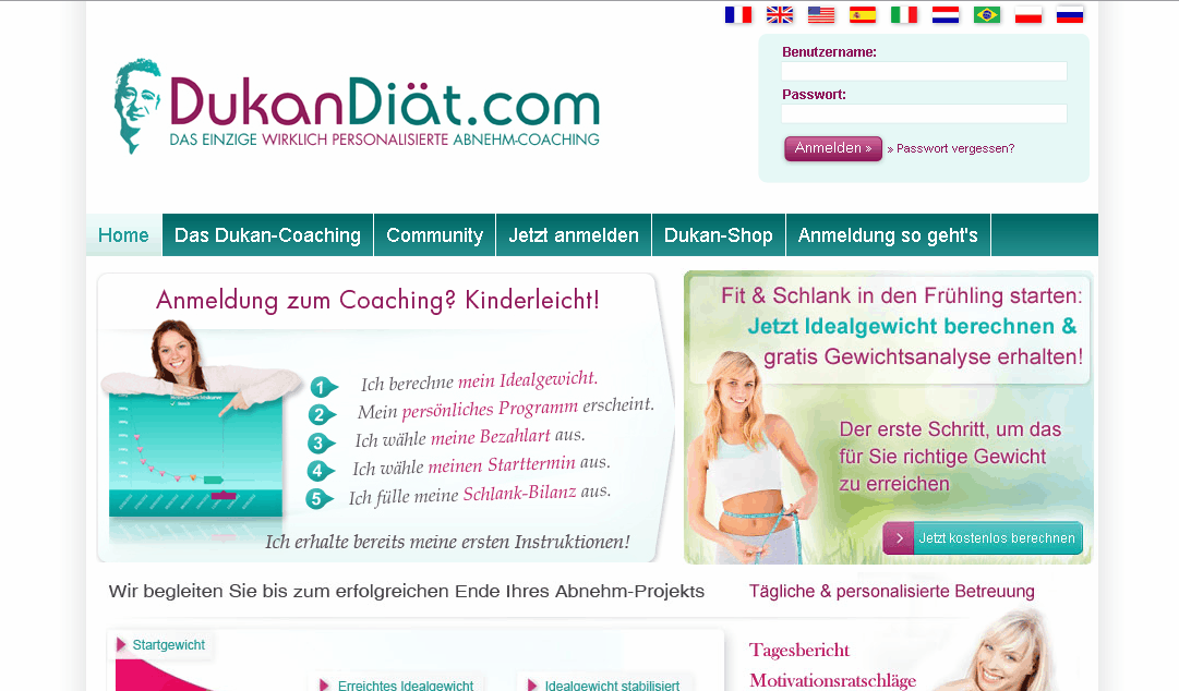DukanDiaet.com Gutschein
