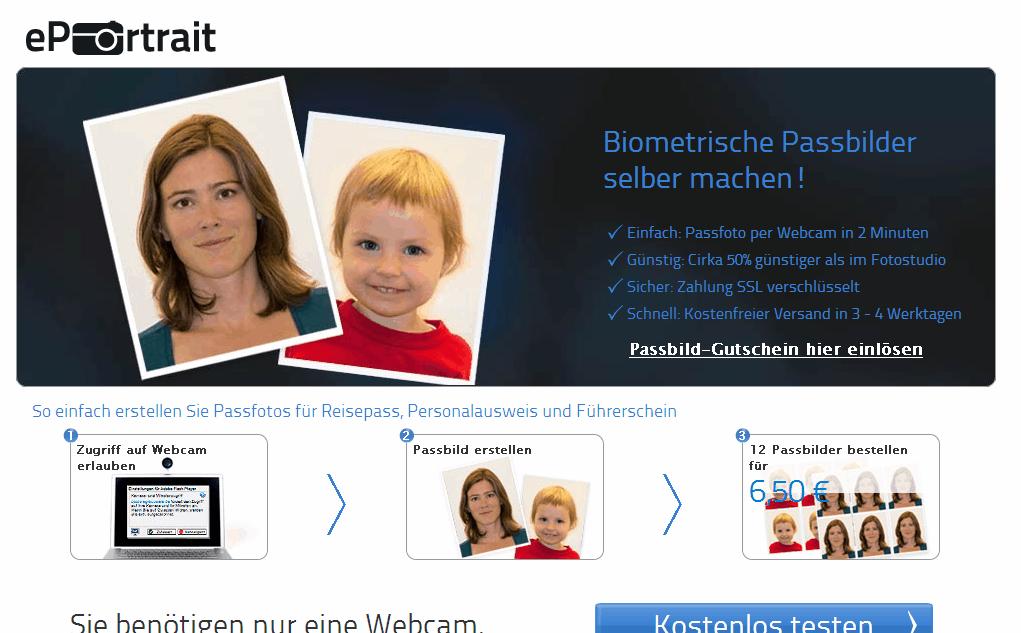 ePortrait Gutschein