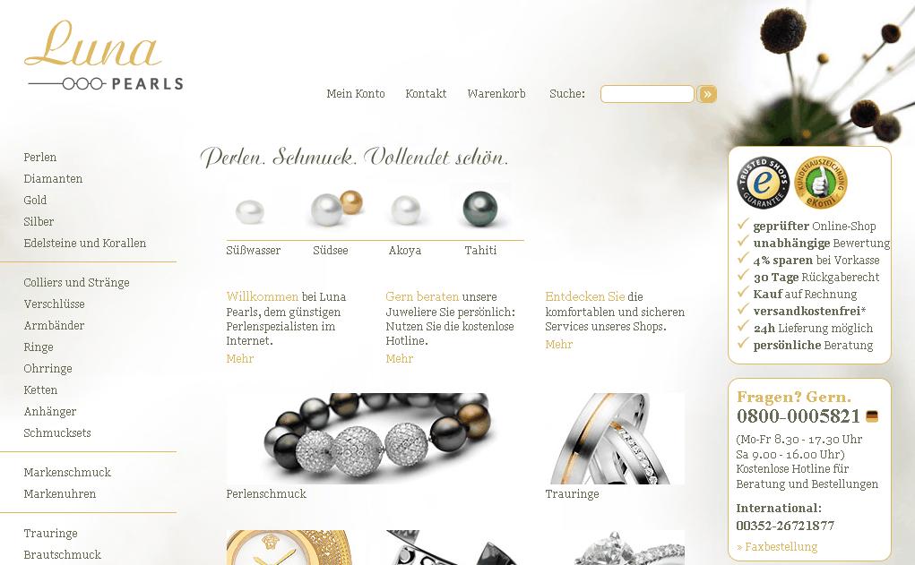 Luna-Pearls Gutschein