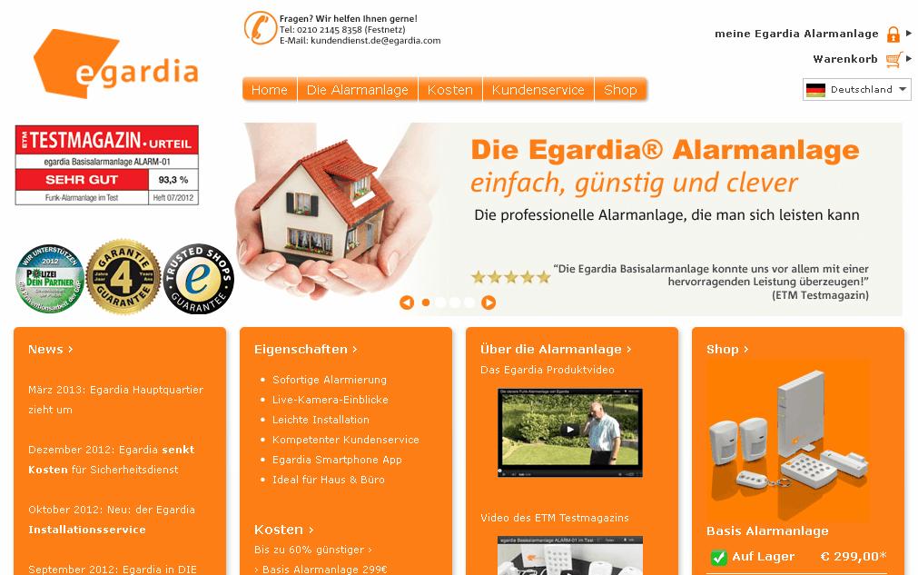 Egardia Gutschein