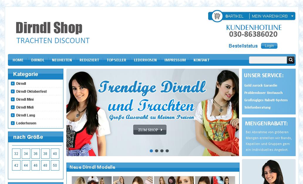 dirndloutlet.com Gutschein
