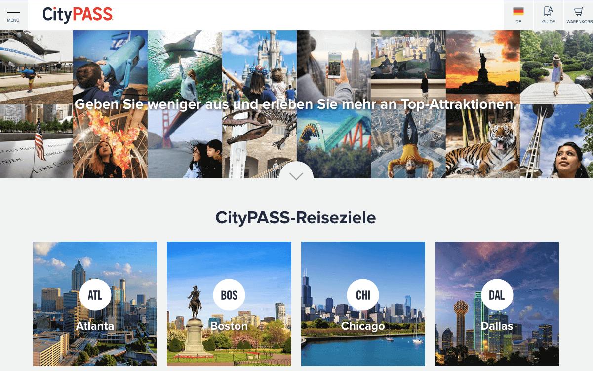 CityPass Gutschein