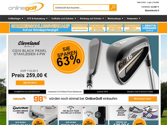 OnlineGolf Gutschein