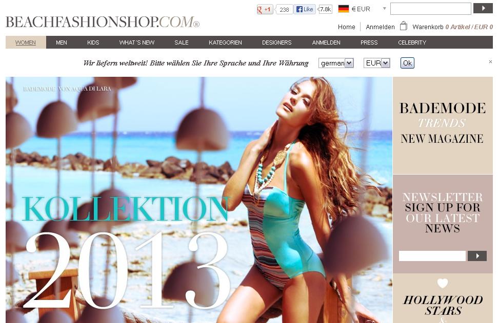BeachFashionShop.com Gutschein