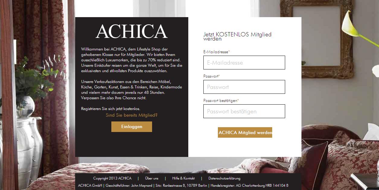 Achica Gutschein