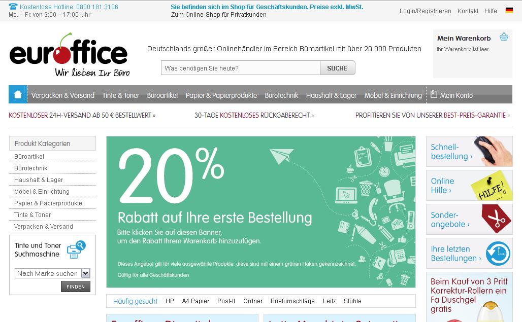 Euroffice Gutschein