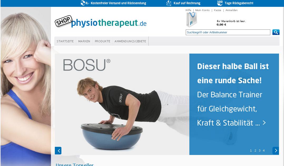 Physiotherapeut Gutschein