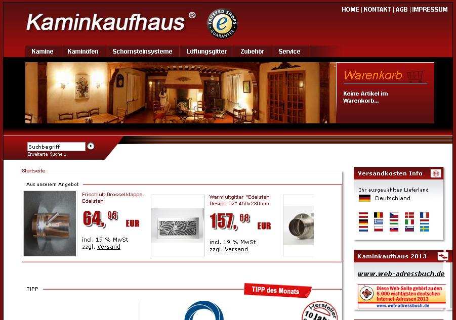 Kaminkaufhaus Gutschein