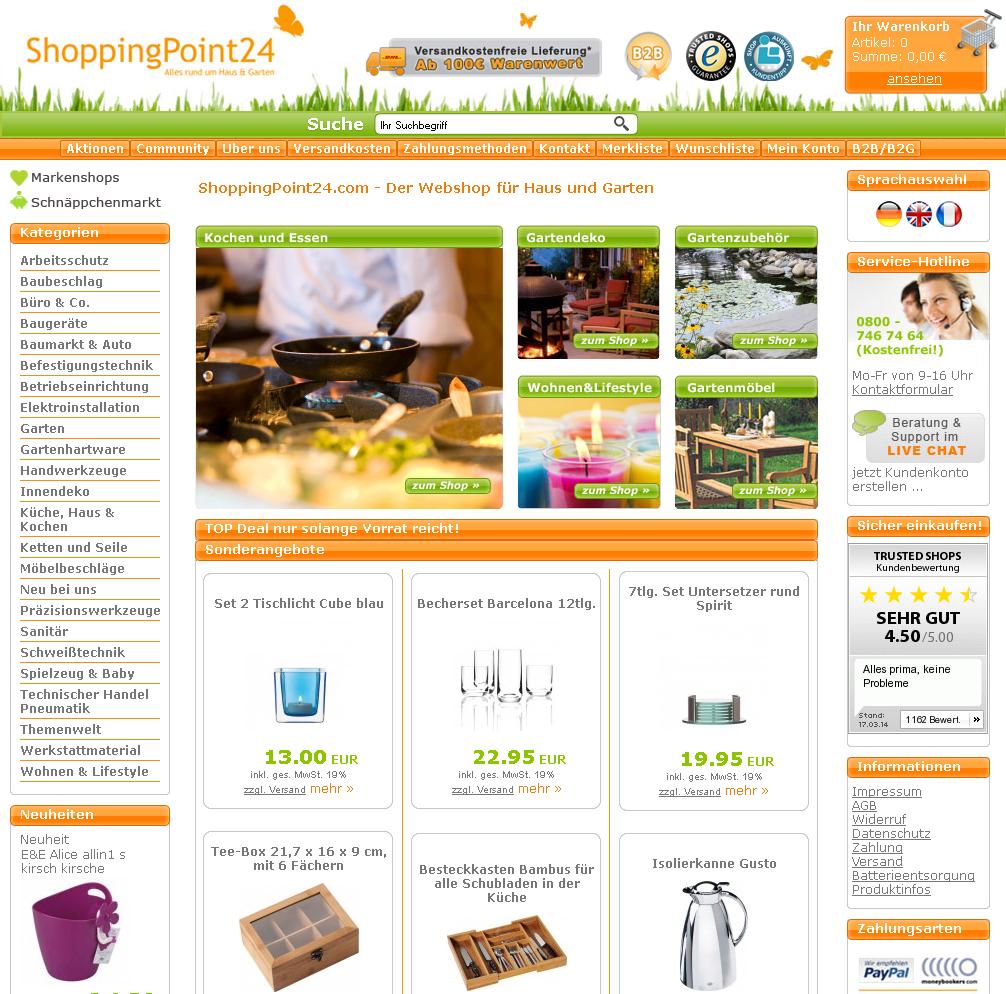 ShoppingPoint24.com Gutschein
