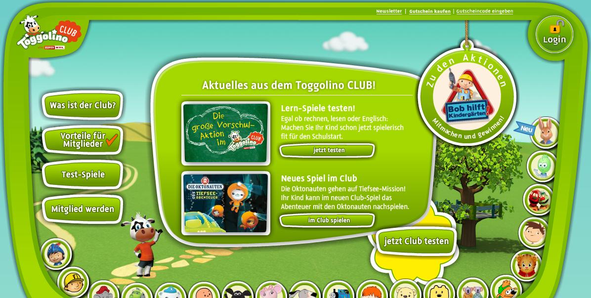 Toggolino Club Gutschein