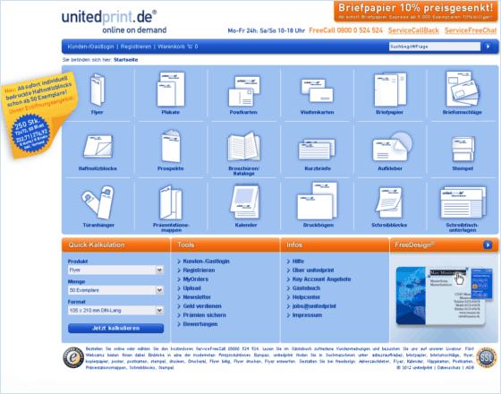 unitedprint Gutschein