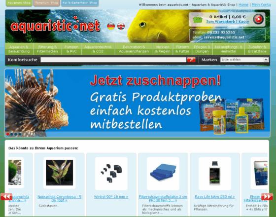 aquaristic.net Gutschein