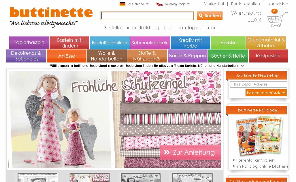 buttinette.de Gutschein