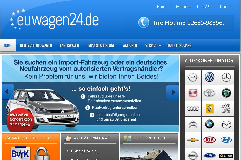 Euwagen24.de Gutschein