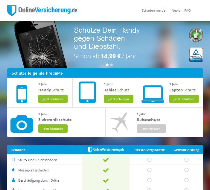 OnlineVersicherung.de Gutschein